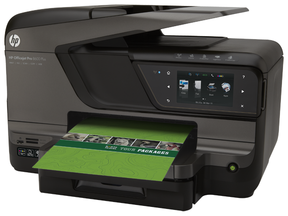 HP Officejet Pro 8600 Plus e-All-in-One Printer - N911g - Left