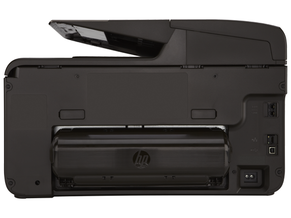 HP Officejet Pro 8600 Plus e-All-in-One Printer - N911g - Rear