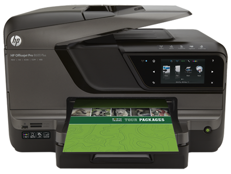 Impresora e-All-in-One HP Officejet Pro serie 8600 Plus - N911