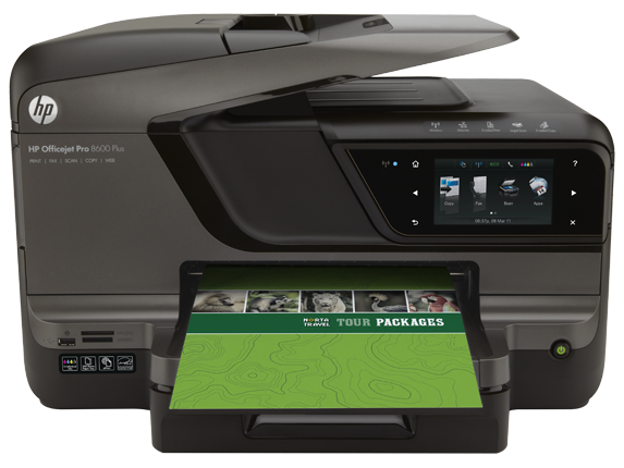 HP Officejet Pro 8600 Plus e-All-in-One Printer - N911g - Center