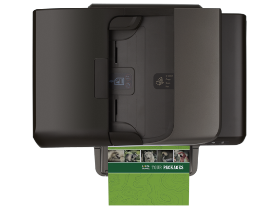 HP Officejet Pro 8600 Plus e-All-in-One Printer - N911g - Top view closed