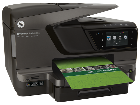 HP Officejet Pro 8600 Plus e-All-in-One Printer - N911g - Right