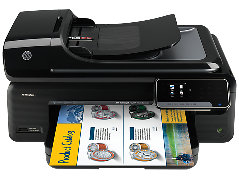 סדרת מדפסות HP Officejet 7500A Wide Format e-All-in-One -‏ E910
