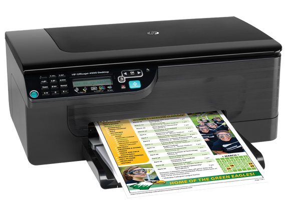 HP Officejet 4500 Desktop All-in-One Printer - G510a
