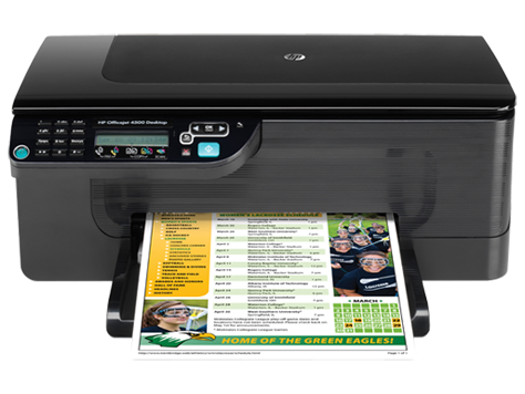les pilotes de hp officejet 4500