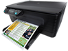 HP Officejet 4500 Desktop All-in-One Printer - G510a - Left
