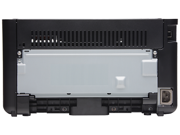 HP LaserJet Pro P1102w Printer - Rear