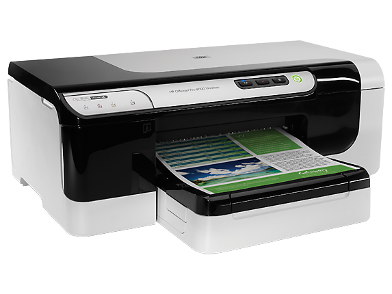 HP Officejet Pro 8000 Wireless Printer - A809n - Right