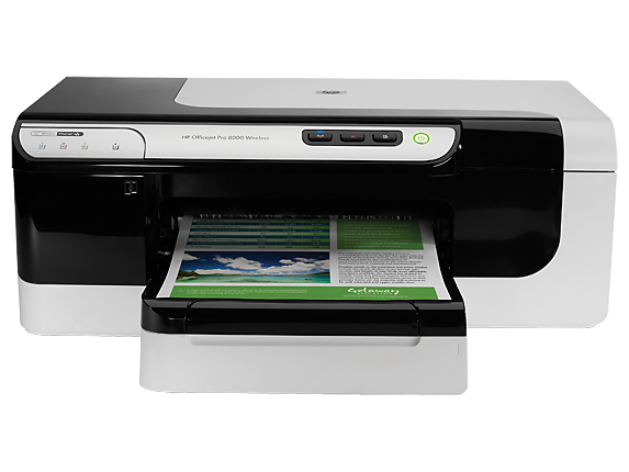 HP Officejet Pro 8000 Wireless Printer - A809n - Center