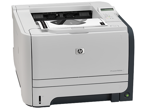 HP LaserJet P2055dn Printer - Right