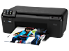 HP Photosmart e-All-in-One Printer - D110a - Left