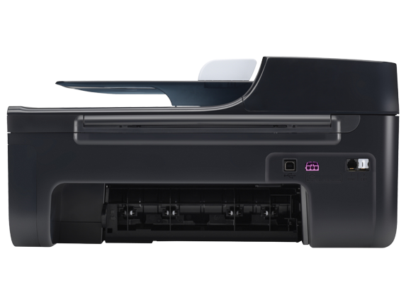 HP Officejet 4500 Wireless All-in-One Printer - G510n - Rear