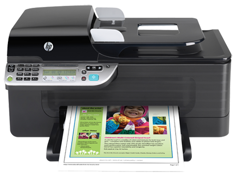 driver imprimante hp officejet 4500 wireless
