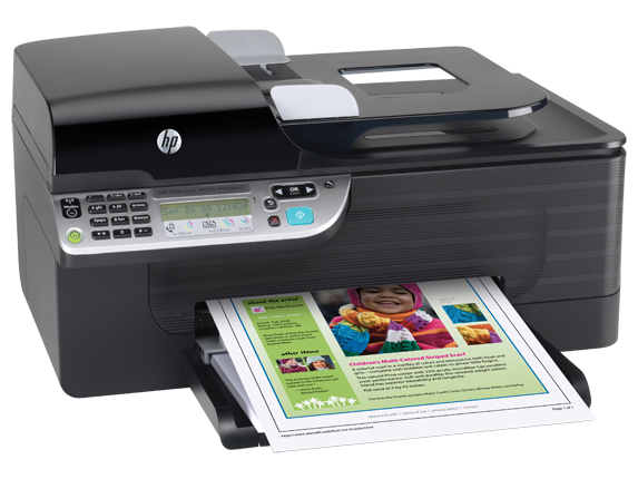 HP Officejet 4500 Wireless All-in-One Printer - G510n - Right