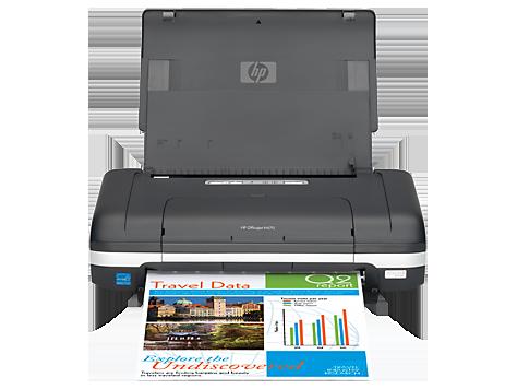 HP Officejet H470wbt Mobile Printer