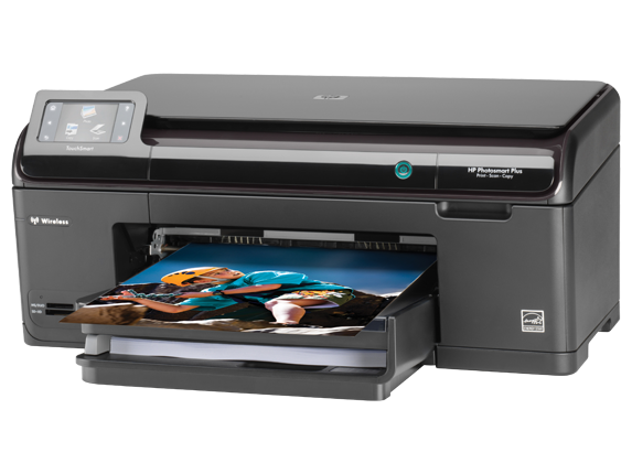 HP Photosmart Plus All-in-One Printer - B209a - Left