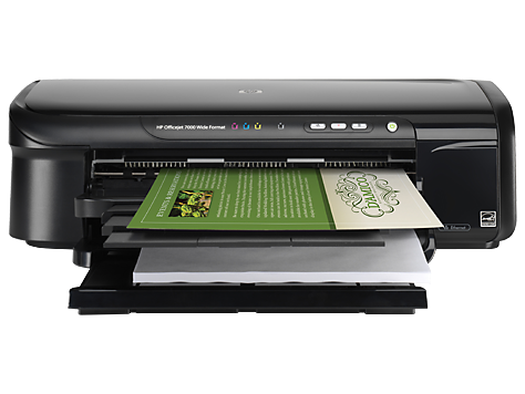 HP Officejet 7000 Wide Format Printer series - E809