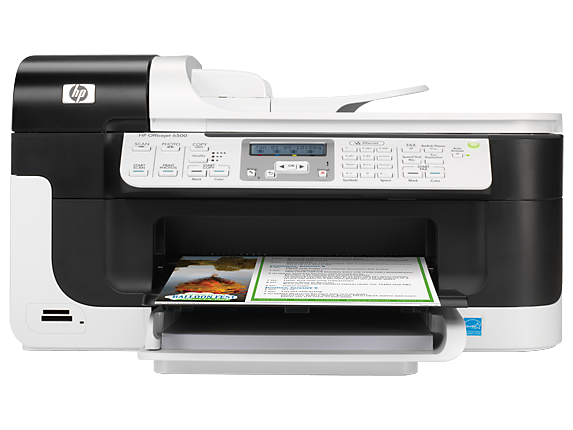 HP Officejet 6500 All-in-One Printer - E709a - Center