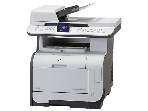 HP Color LaserJet CM2320nf Multifunction Printer - Left