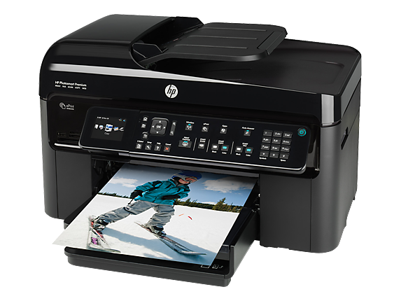 HP Photosmart Premium Fax e-All-in-One Printer - C410a - Left