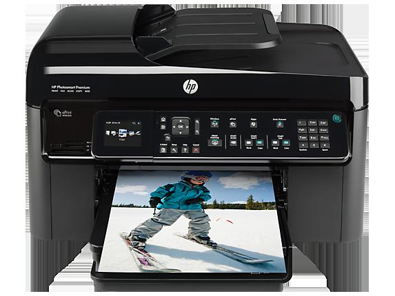 HP Photosmart Premium Fax e-All-in-One Printer - C410a - Center
