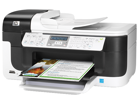 HP Officejet 6500 All-in-One Printer - E709a - Left