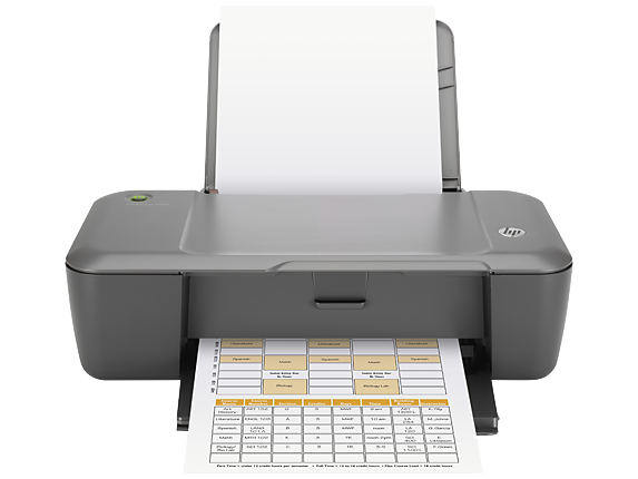 HP Deskjet 1000 Printer - J110c - Center