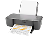 HP Deskjet 1000 Printer - J110c - Left