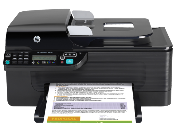 HP Officejet 4500 All-in-One Printer - G510g