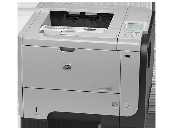 HP LaserJet Enterprise P3015dn Printer - Left