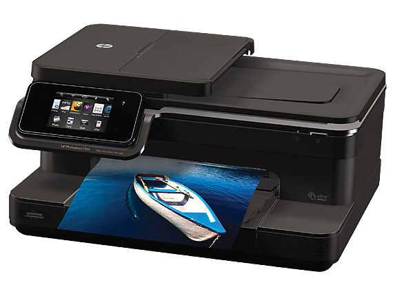 HP Photosmart 7515 e-All-in-One Printer - C311a - Left