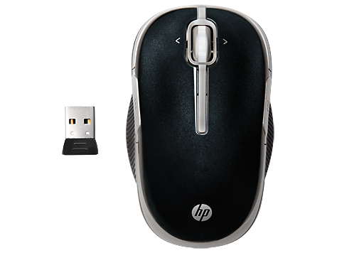 Souris mobile laser sans fil HP 2,4 GHz