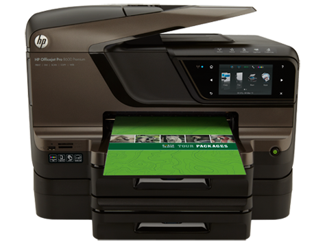 Installing the driver for hp officejet pro 8600 all-in-one printer.