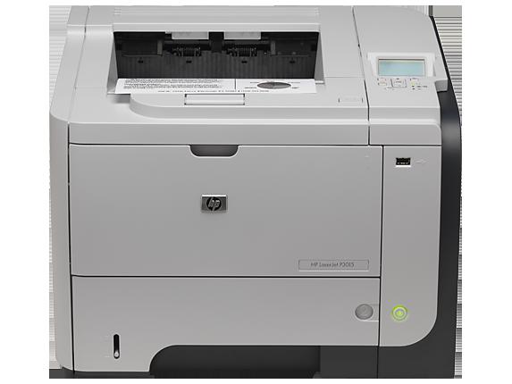 HP LaserJet Enterprise P3015d Printer - Center