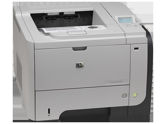 HP LaserJet Enterprise P3015d Printer - Right
