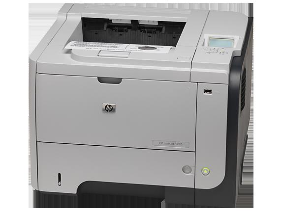 HP LaserJet Enterprise P3015d Printer - Left