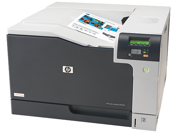 HP Color LaserJet Professional CP5225dn Printer - Left