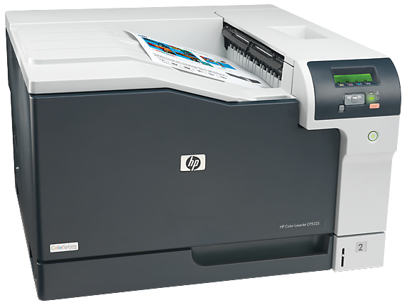 HP Color LaserJet Professional CP5225dn Printer - Right