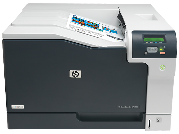 HP Color LaserJet Professional CP5225n Printer - Center