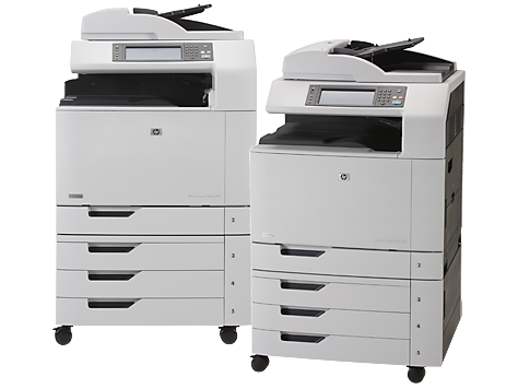 HP Color LaserJet CM6030/CM6040 Multifunction Printer series