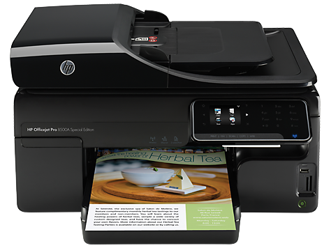 Impresora HP Officejet Pro 8500A e-All-in-One serie - A910