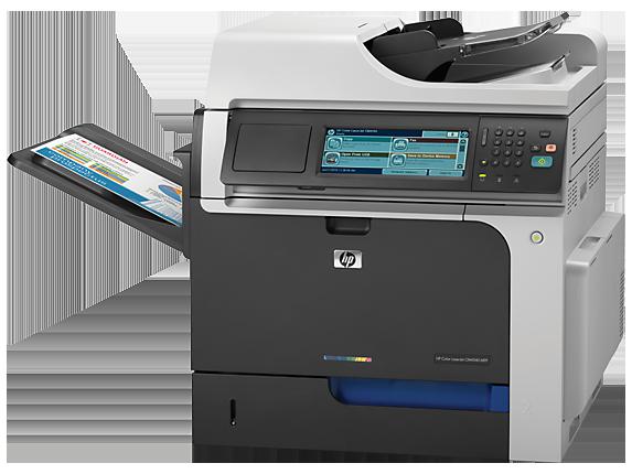 HP Color LaserJet Enterprise CM4540 MFP - Left