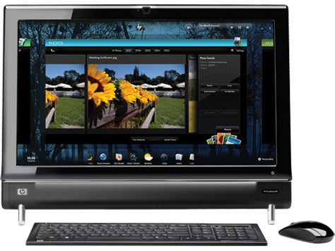 HP TouchSmart 600-1300 desktopserie