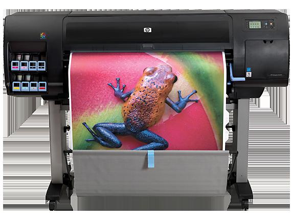 HP DesignJet Z6200 42-in Photo Production Printer - Center