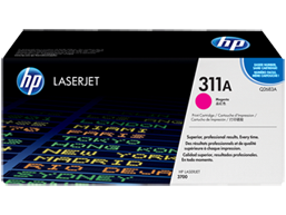 HP 311A Magenta Original LaserJet Toner Cartridge, Q2683A