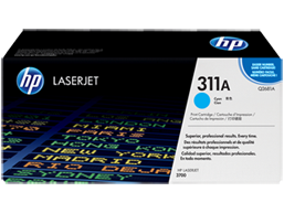 HP 311A Cyan Original LaserJet Toner Cartridge, Q2681A