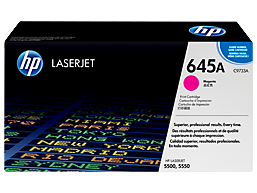 HP 645A Magenta Original LaserJet Toner Cartridge, C9733A