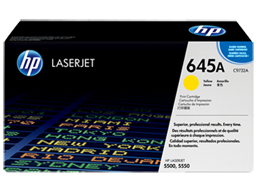 HP 645A Yellow Original LaserJet Toner Cartridge, C9732A