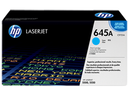 HP 645A Cyan Original LaserJet Toner Cartridge, C9731A