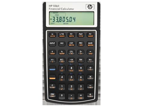 Calculatrice financière HP 10bII